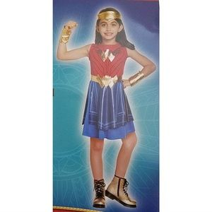 Costumes - NEW Wonder Woman Halloween Costume S 4-6 L 10-12